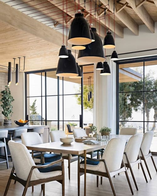 Pendants by Buzzell Studios seen at Private Residence, Los Angeles - Pendant Lights
