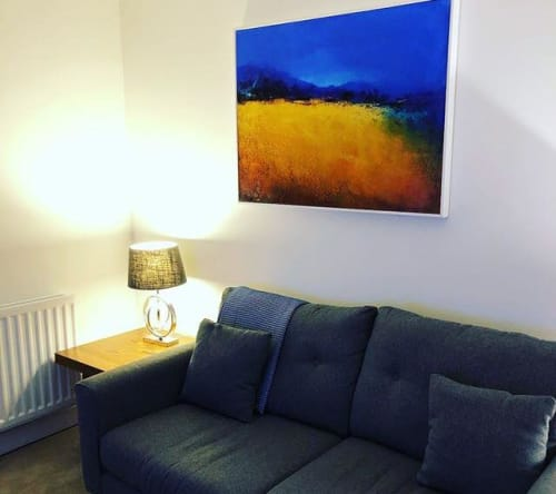 Paintings by Alison Tyldesley seen at Private Residence - Abstract Painting