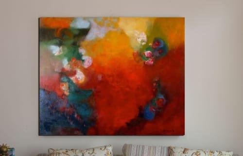Paintings by Cecilia Arrospide at Private Residence, Miraflores, Comas, Comas - JOY II