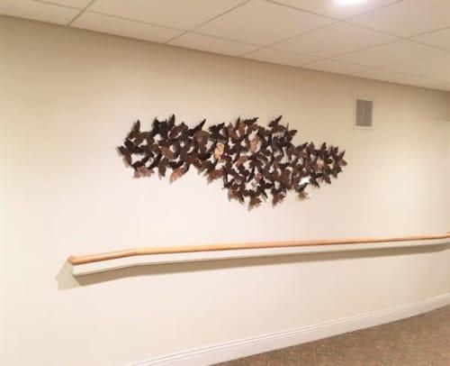 Interior Design by Art Solutions seen at Fellowship Village, Basking Ridge - Fellowship Senior Living - Art consulting, framing, installation