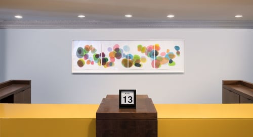 Art Curation by Laura Berman seen at Private Residence, Kansas City - Missouri Bank Commission