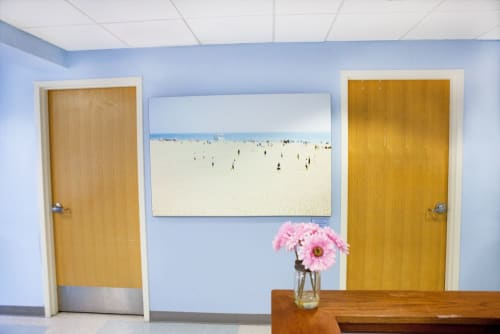 Art Curation by Artist Cheryl Maeder seen at West Palm Beach, West Palm Beach - Florida Cancer Specialists & Research Center, Far & Away I, 2/10, Fine Art Photograph
