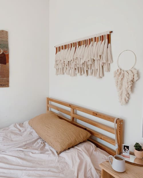 Macrame Wall Hanging by The Little Avocado seen at Private Residence, Los Angeles - Ayla Wall Hanging