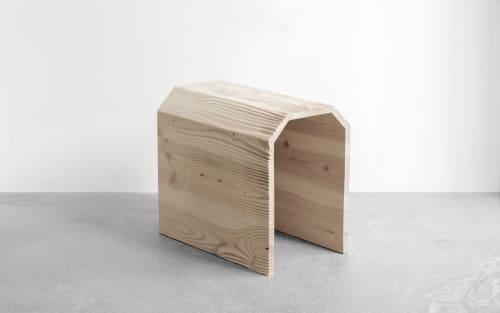 Furniture by YMER&MALTA seen at Creator's Studio, Paris - hiddenSkin stool / table