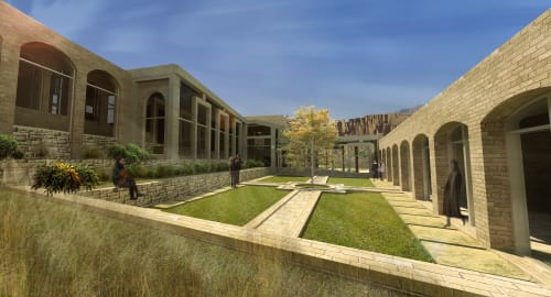 Architecture by Elias González seen at Bamyan, Bamyan - Bamiyan Cultural Center
