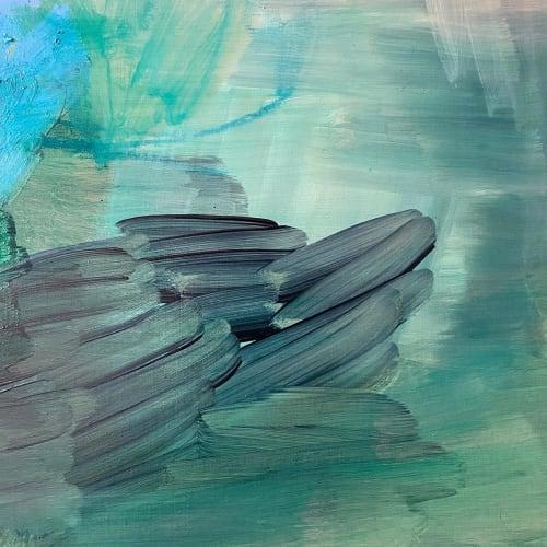Paintings by Margaret Brown seen at Creator's Studio, Nashville - Birdhouse # 7