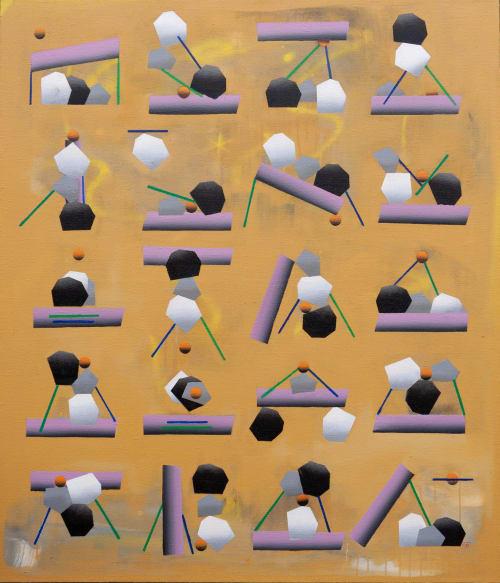 Piedras | Paintings by David Mazanec
