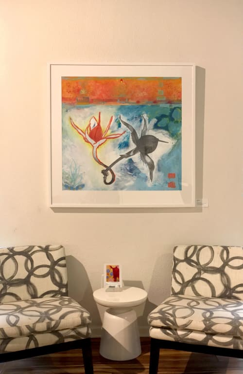 Paintings by Katherine Baronet seen at Lisa Bennett Salon, Dallas - Two Together :: SOLD