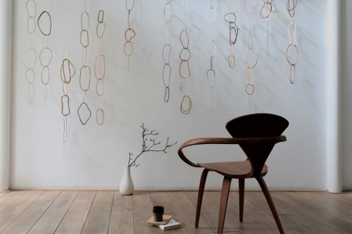 Wall Hangings by Cecil Kemperink seen at Creator's Studio, Den Burg - The tide