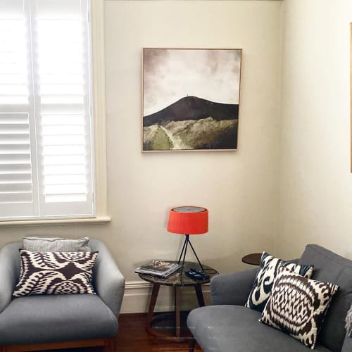 Paintings by Holly Razavi seen at Private Residence, Perth - Mountain View Painting