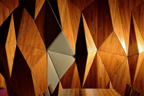 Wall Treatments by Mikodam Design seen at California - GETA - Acoustic Wall Panel