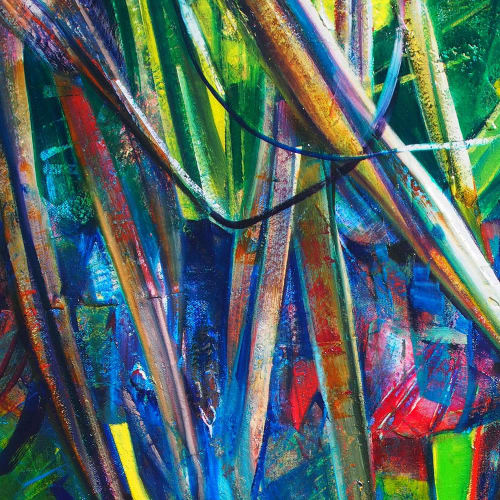 Paintings by Susan Schmidt seen at Noosa Heads, Noosa Heads - Boiling Pot_2019