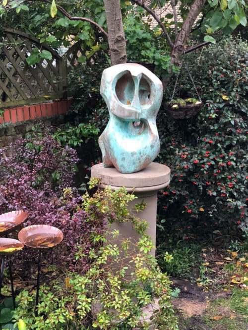 Sculptures by Rob Leighton Sculptor seen at Private Residence, London - Torso of St Agatha of Sicily