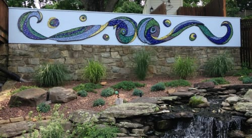 Art & Wall Decor by Maverick Mosaics seen at Bethesda, MD, North Bethesda - Heavenly Waters