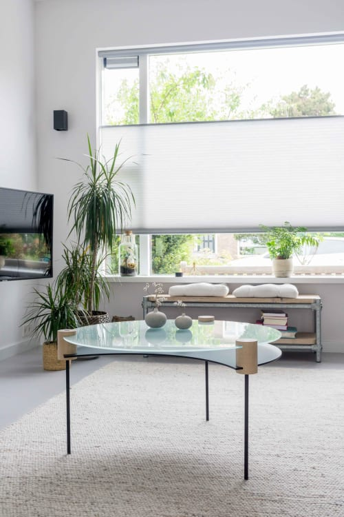 Tables by Alexandra Izeboud Design seen at Private Residence, Amsterdam - ECLIPSE table