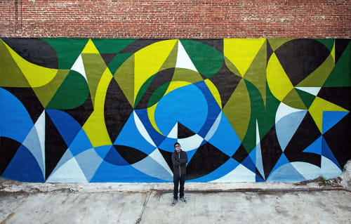 Murals by MATT W. MOORE seen at Philadelphia, Philadelphia - MWM Letterforms.