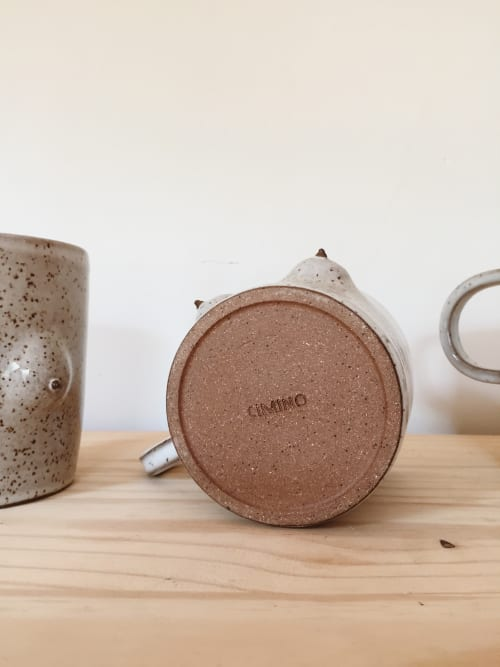 Cups by Amanda Cimino at Cimino Ceramics Studio, South Portland - The Boob Mug