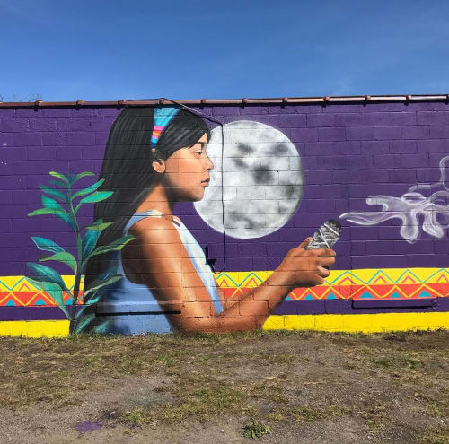 Street Murals by La Morena's Art seen at Rochester, Rochester - Outdoor Mural