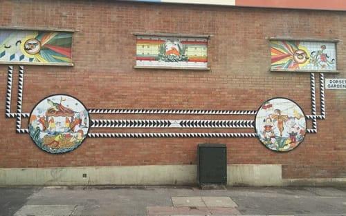 Murals by UniqueTiles Ltd seen at Brighton, Brighton - Tile Murals