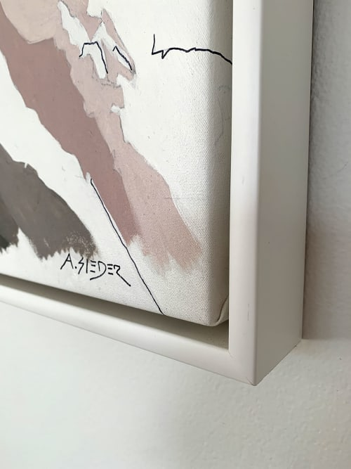 Paintings by Alejandra Sieder seen at Private Residence, Sydney - Noriko Xin