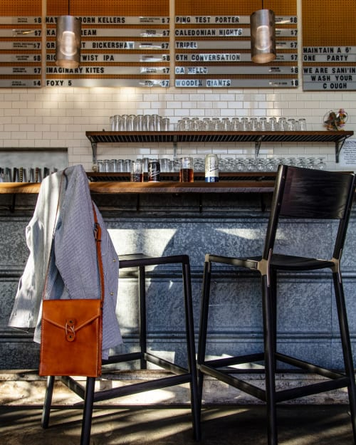 Chairs by Fyrn seen at The Rake at Admiral Maltings, Alameda - Stanyan Bar Stool