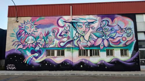 Gamze - Murals and Street Murals