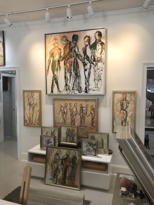 Paintings by AOS Fine Art seen at Private Residence - Jackson, MS, Jackson - In Good Company