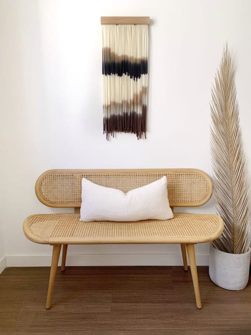Wall Hangings by Kait Hurley Art seen at Private Residence, Franklin - Mountain Shade