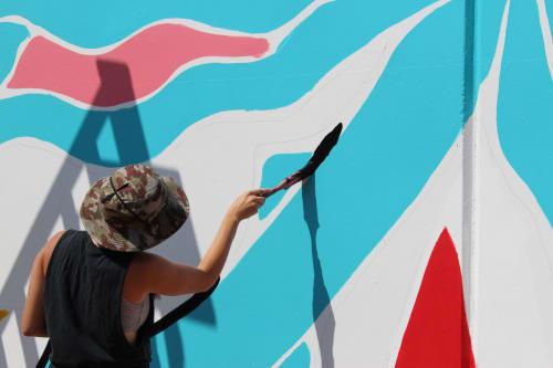 Olivia Di Liberto - Murals and Signage