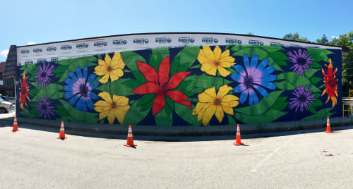 Nick Nortier - Street Murals and Public Art