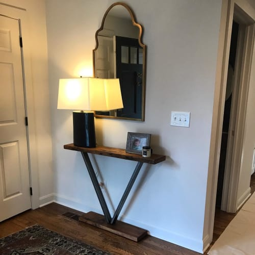 Tables by BURL MFG seen at Private Residence, Columbus - Entryway Table