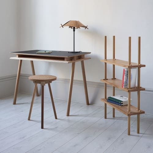 Tables by Pegg Furniture seen at Creator's Studio, Oxford - Pegg Desk