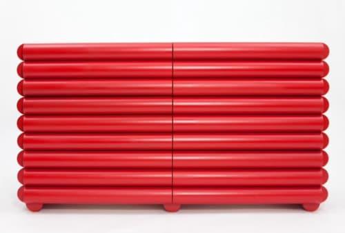 Furniture by Steven Bukowski seen at Steven Bukowski Studio, Brooklyn - Bubble Bureau