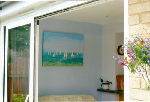 Paintings by Sandra Francis seen at Private Residence, Seaview - Water And Sails