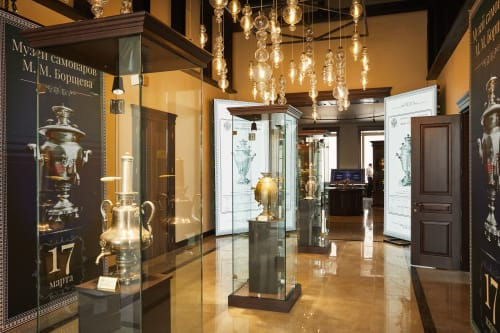 Interior Design by Morosini and Evi Style Brands of LUCI ITALIANE srl seen at Tula, Tula - Samovar Museum