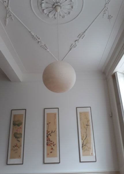 Pendants by Vilt aan Zee seen at Private Residence, Delft - MO 70 Lamps