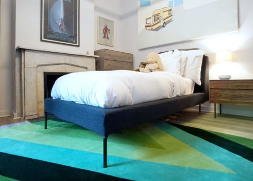 Rugs by Lucy Tupu Studio seen at Private Residence, New York - West Village-Kids Bedroom