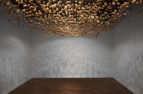 Art & Wall Decor by Carson Fox Studio seen at Linda Warren Gallery, North Aberdeen Street, Chicago, IL, Chicago - Gold Rush