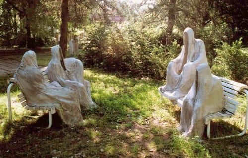 Public Sculptures by Linda-Saskia Menczel seen at muvesztelep pleinair, Csongrád - 5