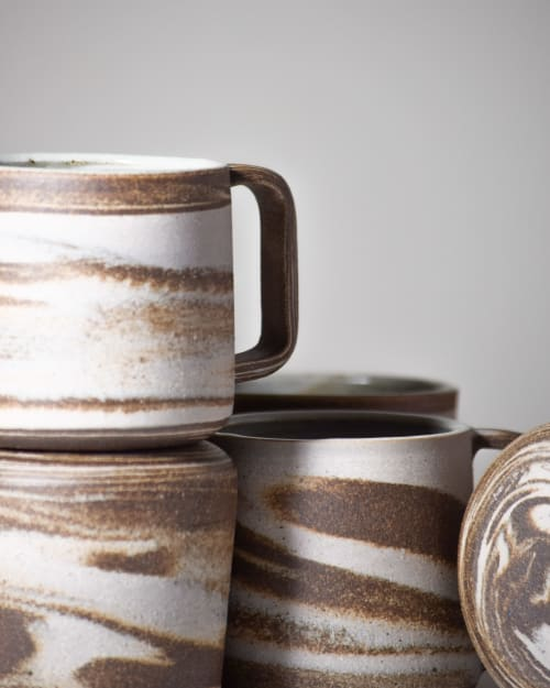 Cups by Stone + Sparrow seen at Private Residence, Joshua Tree - Constellation mugs