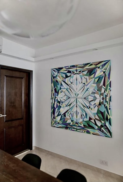 Paintings by Marina Astakhova seen at Private Residence - Crystal Repulse Bay