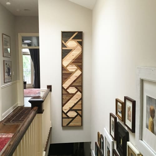 Wall Hangings by Sweet Home Wiscago at Private Residence, Chicago, IL, Chicago - Wood Art River
