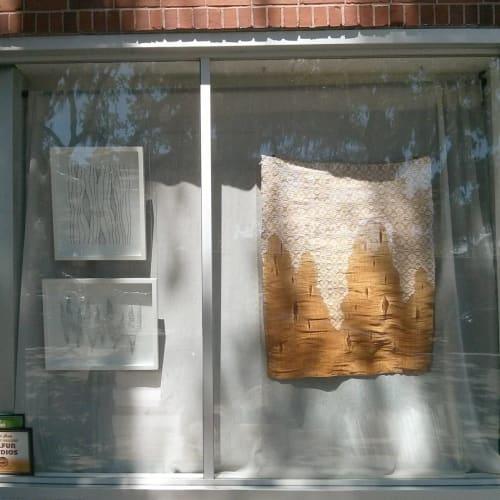 Wall Hangings by Jennifer E. Moss at Sulfur Studios, Savannah - Rustic Weaving