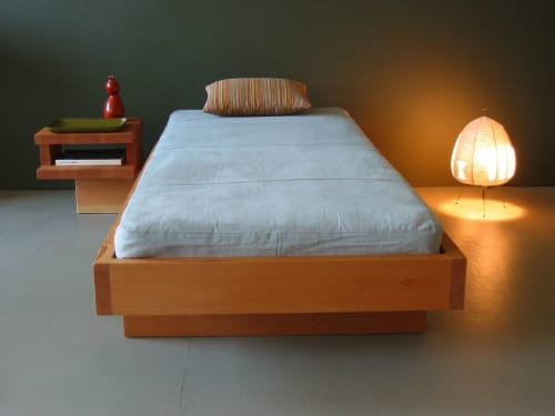 Beds & Accessories by Jason Lees Design seen at Oakland, Oakland - Float Daybed with Table