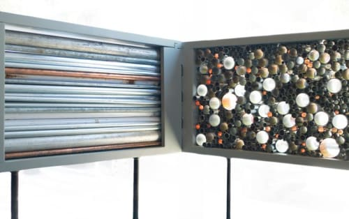 Sculptures by Sam Horowitz seen at Beacon, Beacon - Filter