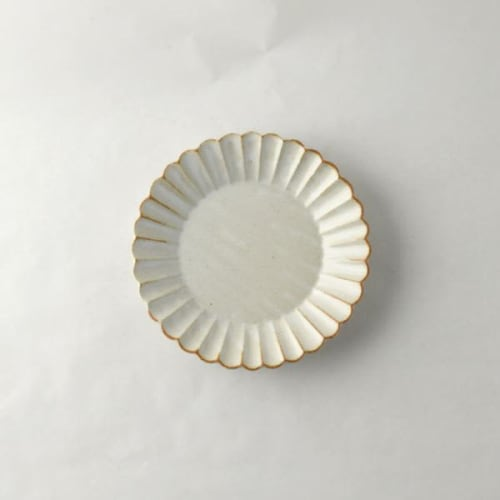 Ceramic Plates by Marumitsu Poterie seen at Private Residence - Barbarie 15 plate