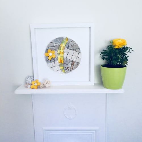 Wall Hangings by Park Ceramics and Gifts by Amanda Westbury seen at Private Residence, Harlow - Lazy Daisy