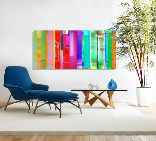 Paintings by Christopher Brown Studio seen at Private Residence, San Francisco - Polychromatic