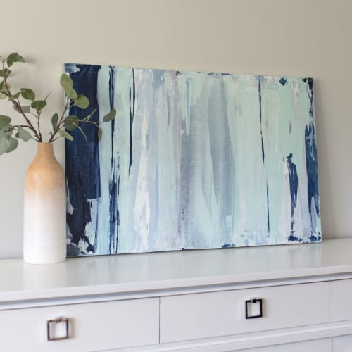 Paintings by Julia Contacessi Fine Art seen at Private Residence - PACIFICA - Original Painting