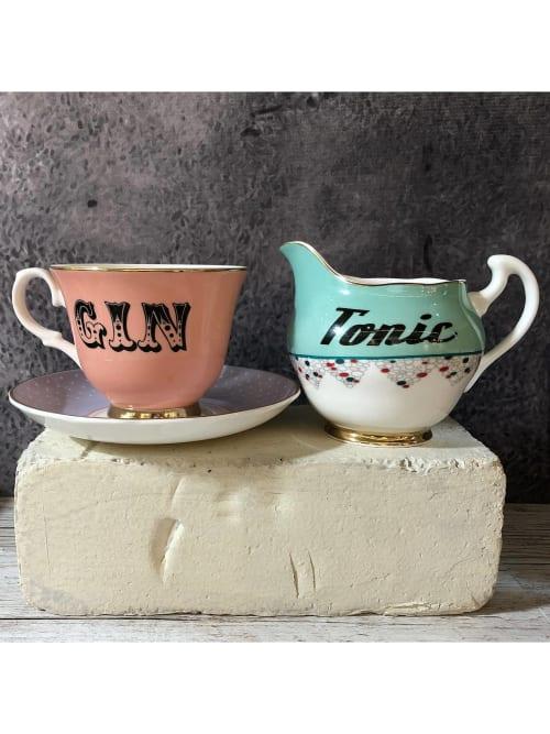 Cups by YvonneEllen seen at Reefton Distilling Co., Reefton - Tonic Jug